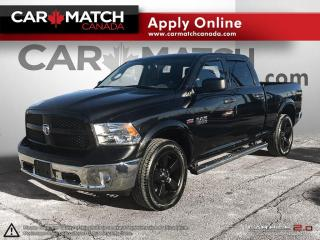 Used 2017 RAM 1500 OUTDOORSMAN / CREW CAB / 4X4 / NO ACCIDENTS for sale in Cambridge, ON