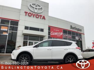 Used 2016 Toyota RAV4 SE LOADED & EXTENDED WARRANTY for sale in Burlington, ON