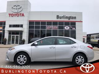 Used 2015 Toyota Corolla CE 6 SPEED TRANS for sale in Burlington, ON