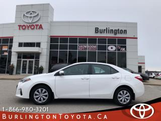 Used 2016 Toyota Corolla Sport for sale in Burlington, ON