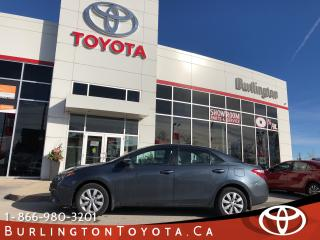 Used 2016 Toyota Corolla LE ONE OWNER,WARRANTY for sale in Burlington, ON