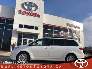 Used 2015 Toyota Sienna LIMITED EDITION for sale in Burlington, ON