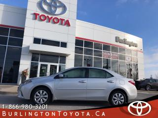 Used 2016 Toyota Corolla LE FACTORY WARRANTY for sale in Burlington, ON