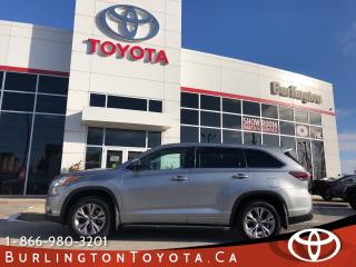 Used 2016 Toyota Highlander LE EXTENDED WARRANTY for sale in Burlington, ON