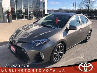 Used 2018 Toyota Corolla SE LOADED for sale in Burlington, ON