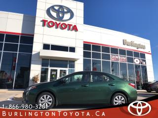 Used 2015 Toyota Corolla LE ONE OWNER for sale in Burlington, ON