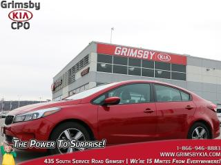Used 2018 Kia Forte LX+| Smartphone Conntect| Heat Seat| Backup Cam for sale in Grimsby, ON
