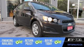 Used 2014 Chevrolet Sonic LS ** Manual, Brand New Tires, Low Km, Affordable for sale in Bowmanville, ON