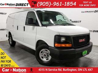 Used 2017 GMC Savana 2500 | BACK UP CAMERA| OPEN SUNDAYS| for sale in Burlington, ON
