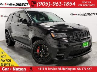 Used 2018 Jeep Grand Cherokee SRT| LAGUNA LEATHER| PANO ROOF| for sale in Burlington, ON