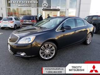 Used 2013 Buick Verano TURBO  NAVIGATION-LEATHER-SUNROOF for sale in Port Coquitlam, BC