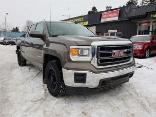 Used 2015 GMC Sierra 1500 SLE-ONE OWNER-ACCIDENT FREE-LOW Monthly PAYMENTS!! for sale in Edmonton, AB