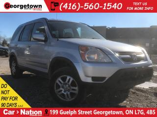 Used 2002 Honda CR-V EX LEATHER| ROOF| AWD| GREAT SHAPE for sale in Georgetown, ON