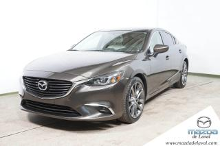 Used 2016 Mazda MAZDA6 GT CUIR TOIT for sale in Laval, QC