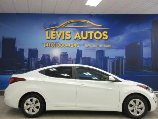 Used 2016 Hyundai Elantra L for sale in Lévis, QC