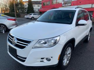 Used 2010 Volkswagen Tiguan AWD 4dr HIGHLINE for sale in Surrey, BC