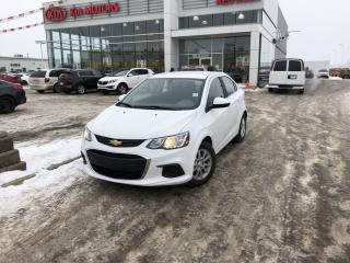 Used 2018 Chevrolet Sonic LT Auto don't pay for 6 months on now for sale in Red Deer, AB