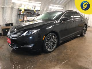 Used 2014 Lincoln MKZ AWD * Navigation * Panoramic Sunroof * Leather * Cross-traffic alert * Lane keeping system * Blindspot assist *  Remote start * Reverse camera (360 de for sale in Cambridge, ON