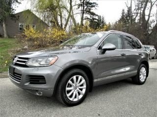 Used 2012 Volkswagen Touareg DIESEL for sale in Richmond Hill, ON