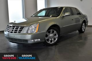 Used 2006 Cadillac DTS LUXE  V8+CUIR+SIÈGES CHAUFFANTS ET CLIMA for sale in St-Jean-Sur-Richelieu, QC
