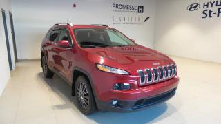 Used 2015 Jeep Cherokee 4 RM, 4 portes, North BAS KILOMETRAGE for sale in St-Raymond, QC