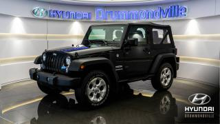 Used 2016 Jeep Wrangler SPORT + GARANTIE + MAGS RUBICON + CRUIS for sale in Drummondville, QC