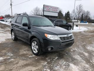 Used 2010 Subaru Forester X Limited w/Navigation Fully loaded for sale in Komoka, ON