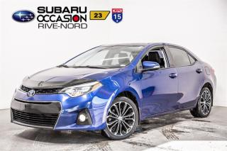 Used 2015 Toyota Corolla LE MAGS+TOIT.OUVRANT for sale in Boisbriand, QC