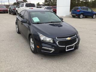 Used 2016 Chevrolet Cruze ECO | One Owner | Rear View Camera for sale in Harriston, ON