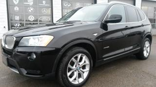 Used 2013 BMW X3 Xdrive 28i One Owner|No Accidents| for sale in Guelph, ON
