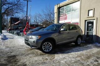 Used 2013 BMW X3 5028i 4 portes à traction intégrale for sale in Laval, QC