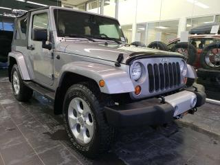Used 2013 Jeep Wrangler SAHARA, HARD TOP, 2ND SET OF TIRES, BLUETOOTH for sale in Edmonton, AB