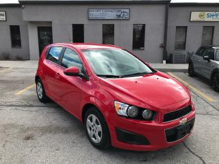 Used 2014 Chevrolet Sonic LS,BLUETOOTH,A/C,NO ACCIDENTS for sale in Burlington, ON