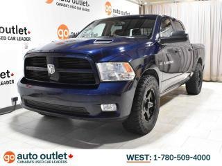 Used 2012 RAM 1500 SPORT 4X4; HEMI V8, LEATHER, HEATED/COOLED SEATS, NAV, RAM BOX STORAGE! for sale in Edmonton, AB