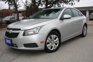Used 2012 Chevrolet Cruze LT Turbo w/1SA for sale in Mississauga, ON