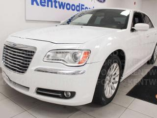 Used 2014 Chrysler 300 Touring RWD, heated power leather seats, push start/stop for sale in Edmonton, AB
