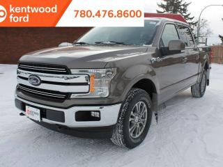 New 2019 Ford F-150 Lariat 500A 2.7L ecoboost 4x4 supercrew, NAV, BLIS, auto start/stop, remote vehicle start for sale in Edmonton, AB