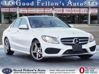 Used 2015 Mercedes-Benz C-Class 4MATIC, Sport Pkg, Panoramic Sunroof, Navigation for sale in Toronto, ON