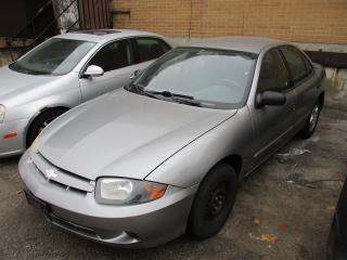 Used 2003 Chevrolet Cavalier VL for sale in Toronto, ON