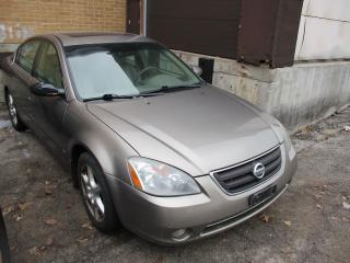 Used 2002 Nissan Altima SE ~ LEATHER ~ SUNROOF ~DRIVES GOOD ~ AS-IS for sale in Toronto, ON