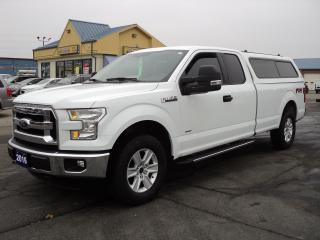 Used 2016 Ford F-150 XLT SuperCab 4X4 FX4 3.5L Ecoboost 8ft Box for sale in Brantford, ON