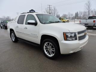 Used 2013 Chevrolet Avalanche LTZ. Leather. Sunroof. Navigation. Loaded for sale in Gorrie, ON