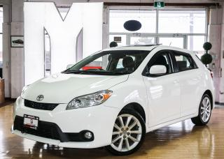 Used 2012 Toyota Matrix XRS - SUNROOF|ALLOYS|BLUETOOTH for sale in North York, ON