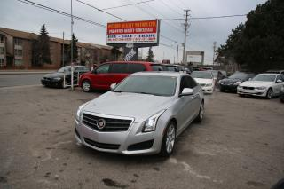 Used 2013 Cadillac ATS Leather,sunroof,luxury !! for sale in Toronto, ON