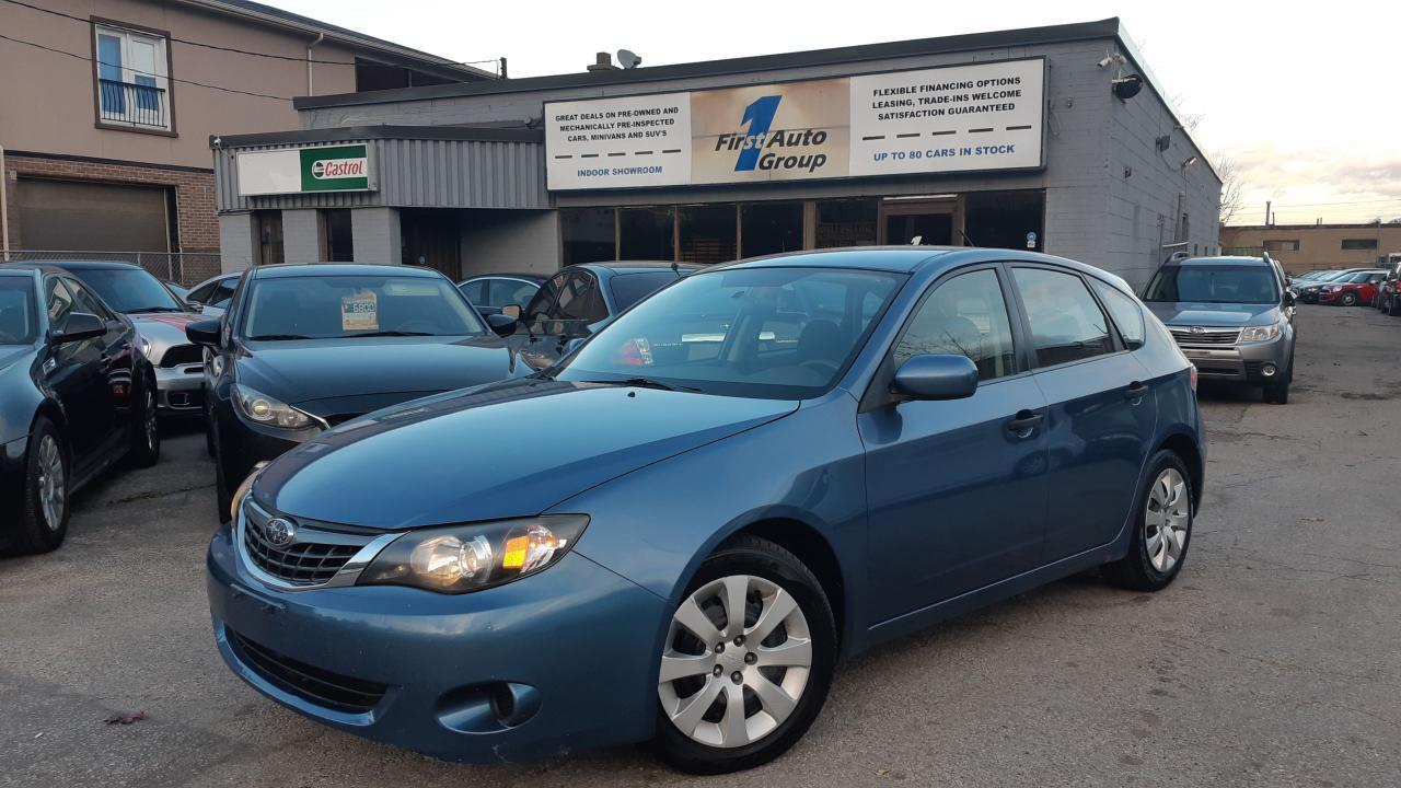 Photo of Blue 2008 Subaru Impreza