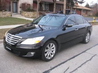 Used 2009 Hyundai Genesis TECH PKG, V6, LEATHER, SUNROOF, NO ACCIDENTS for sale in Toronto, ON