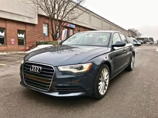 Used 2012 Audi A6 3.0T Premium Plus, NAV, BACKUP CAMERA for sale in North York, ON
