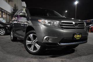 Used 2012 Toyota Highlander LIMITED - ONTARIO CAR - CARPROOF VERIFIED for sale in Oakville, ON