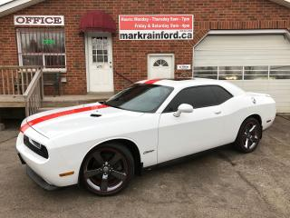 Used 2013 Dodge Challenger Rallye Redline with Navigation for sale in Bowmanville, ON