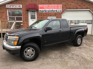 Used 2008 GMC Canyon SLE 5 cylinder 4x4 Leather for sale in Bowmanville, ON